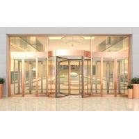 西安厂家直销自动三翼旋转门玻璃感应自动门门酒店大门