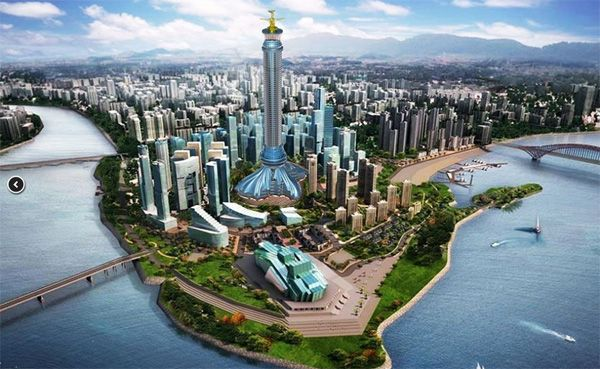 地标性建筑设计/重庆地标设计/特色建筑设计
