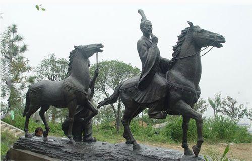陕西铜雕塑厂家/陕西公园雕塑/陕西景区雕塑