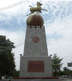 四川雕塑/旅游城市雕塑/马踏飞燕雕塑
