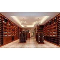 红酒酒架,实木酒柜,展示架,选鹏翔酒窖