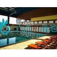 钢结构整体泳池建设施工过程