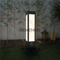 戶外亮化景觀燈柱亞克力草坪燈現代簡約園林燈特色長方形花園燈