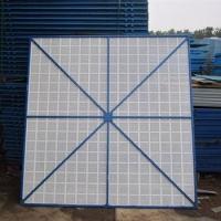 工地外架安全防护钢板网-脚手架爬架网