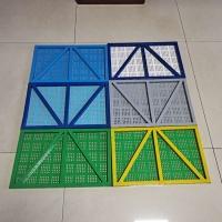建筑安全防护网片A建筑安全防护钢板网片A外架钢板网