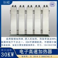 速熱式PTC半導體加熱器 30千瓦電采暖加熱器 恒嶸科技