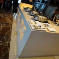 复合亚克力人造石餐桌台面