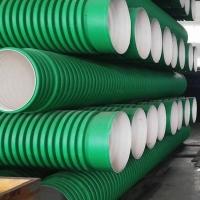 湖南常德PP-HM双壁波纹管塑料管品质好管道豪企制造