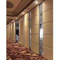 济南酒店宴会厅活动隔断墙定做,饭店包厢包厢移动隔断屏风