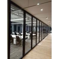 烟台滑轨吊挂折叠屏风隔断价格 青岛玻璃活动隔断屏风免费设计