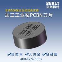 CBN刀具 加工渣浆泵刀片 高铬铸铁渣浆泵车削专用刀粒