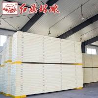 天津红旗彩钢冷库板定制 聚氨酯冷库板