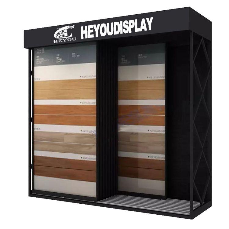 瓷砖展示架 推拉柜 600*1200墙砖地砖 瓷砖展示柜