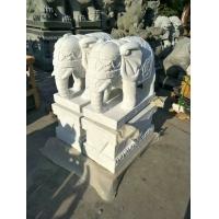福建石雕大象 室外石象定制 石雕大象價格