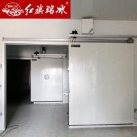 天津紅旗瑞冰齒條電動冷庫門  保溫隔熱無線遙控開關
