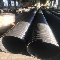 工程管道地下大口径排污雨水收集pe波纹管管道