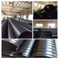 新一代600口径市政排污钢带波纹管