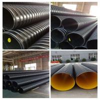 专业生产钢带增强波纹管配送