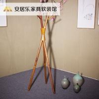 新中式唐叔北墨三叉衣架