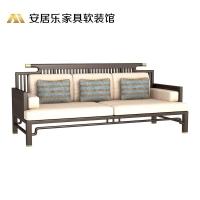 新中式逢源三人位沙发