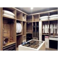 藍蓮全屋定制極簡衣帽間步入式板式衣柜系列