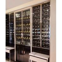 不锈钢酒柜厂家 不锈钢恒温酒柜 不锈钢酒柜安装 不锈钢酒柜