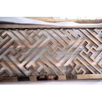 钛金拉丝不锈钢屏风 定制方管拉焊隔断 佛山厂家直销