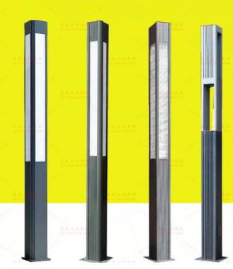 户外景观灯铝型材景观灯柱烟台直销。