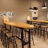 厦门欣百恒主题咖啡厅休闲吧台桌酒吧桌椅全店家具定制