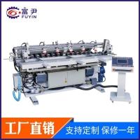 厂家供应 数控多轴铣槽机(自动进退料)儿童床加工机械
