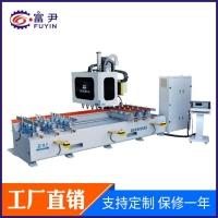 木工数控榫槽机  双排钻轴异形铣槽机  桌椅腿加工机械