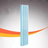 陕西铜铝复合50X87暖气片安装