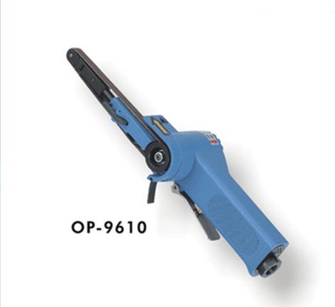 供应OP-9610气动砂带机砂布环带机昆山气动工具