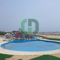 戏水池 加强筋 泳池胶膜 泳池翻新改造