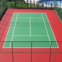 广东邦禾体育硅PU羽毛球场