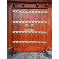 西安仿古大门,铜钉大门,炮钉大门,景区大门承接