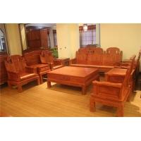 西安仿古实木沙发 红木沙发厂家定制 中式古典沙发定制 中式沙
