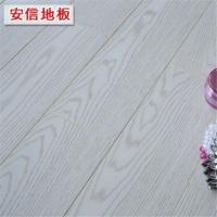 安信 情迷白橡 强化复合木地板 地热地暖适用 厂家直销