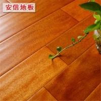 安信 卡罗木 纯正全实木仿古地板 复古风格 厂家直销