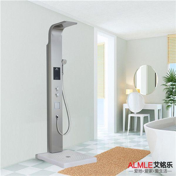 艾铭乐集成热水器A7款式 集成淋浴屏热水器即开即热