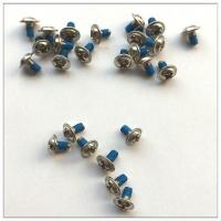 工藝規范堅固耐用304不銹鋼螺絲藍色膠涂膠生產制作廠價