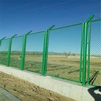 海关监管设施封关围网 综合保税区隔离网围墙 保税区巡逻道护栏