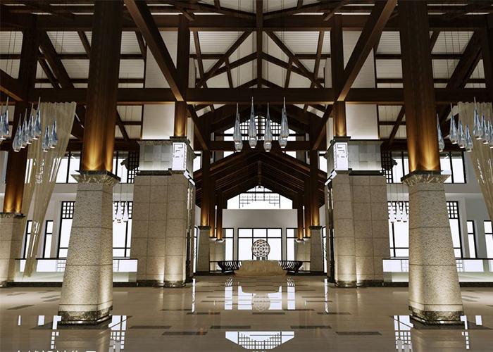 南京酒店工程-酒店装修设计-南京博雅斯木业