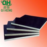 启恒建筑木模板杨木多层胶合板双面黑色施工用