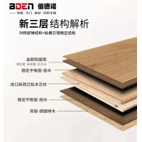 15MM新三層實木地板