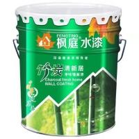 健康环保品牌枫庭水漆竹炭清新居净味墙面漆分解甲醛会呼吸的水漆