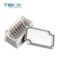TIBOX热销端子配电箱户外防水仪表盒 ABS塑料密封盒