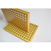 安徽沖孔鋁單板廠家 沖孔鋁單板幕墻吊頂 降噪