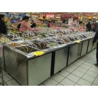 超市泡菜柜,不銹鋼小菜柜,醬菜展示柜