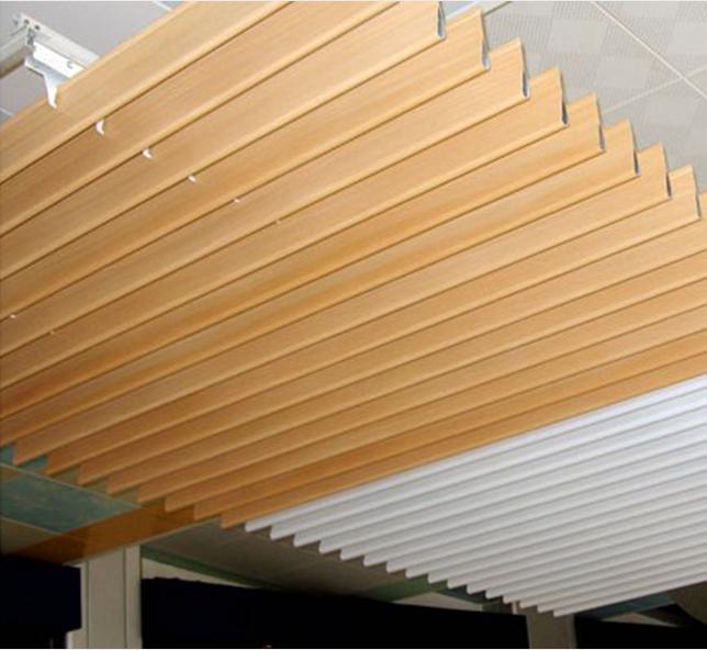 氟碳鋁方通 方通吊頂 鋁方通造型 戶外鋁方通